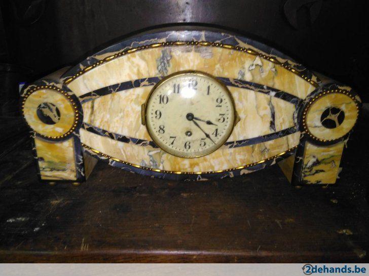 Gebruikt: Oude klok werk niet (Klokken & Barometers) - Te koop in Sint-Truiden