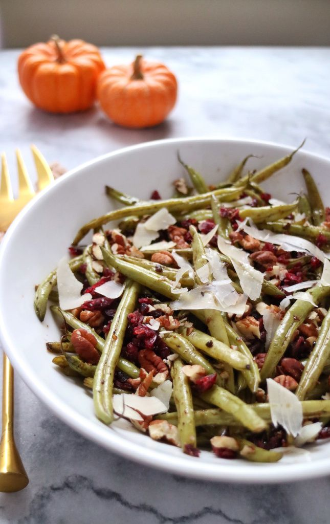 Green Beans with Pecans Cranberries & Parmesan is a great recipe for a ...