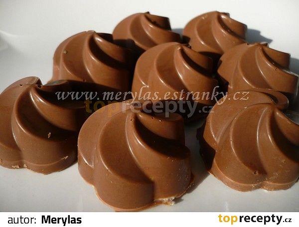 Pralinky z mléčné čokolády