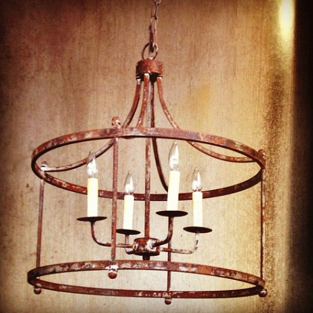 Park Hill Collection Savannah Large Iron Pendant #parkhillcollection #savannah