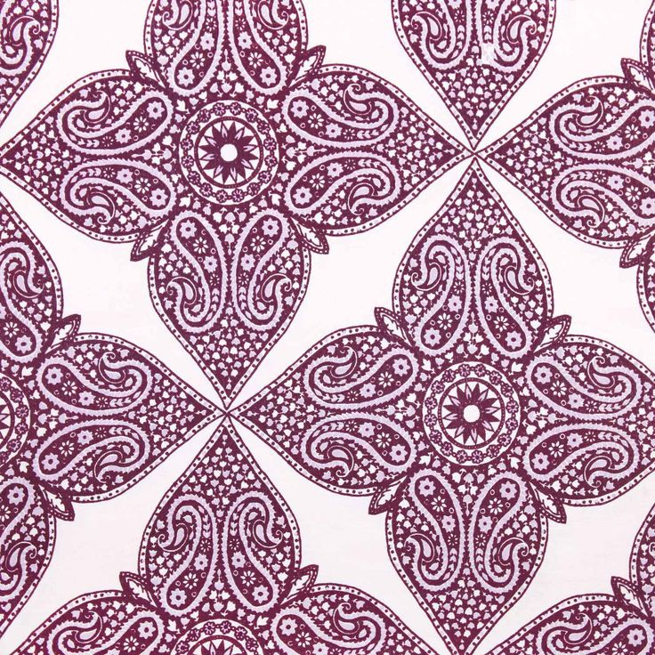purple moroccan pattern