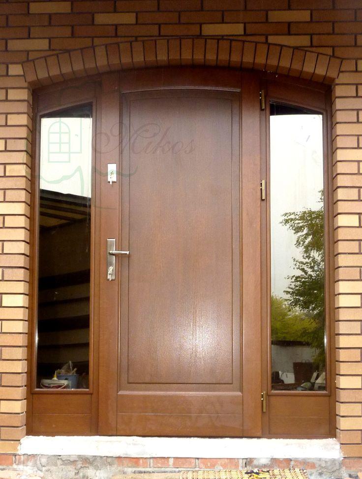 Drzwi zewnętrzne łukowe