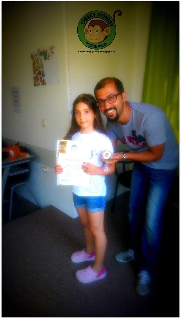 Our First Certificates...#CME4K Sadece çocuklar (Okul Oncesi - Ilkokul - Ortaokul) için İngilizce dil kursu İzmir