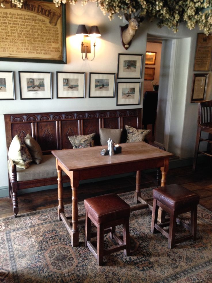 Inside the Drunken Duck Inn, Lake District England. A cosy pub with great food, a roaring fire, and a funny story about drunken ducks.