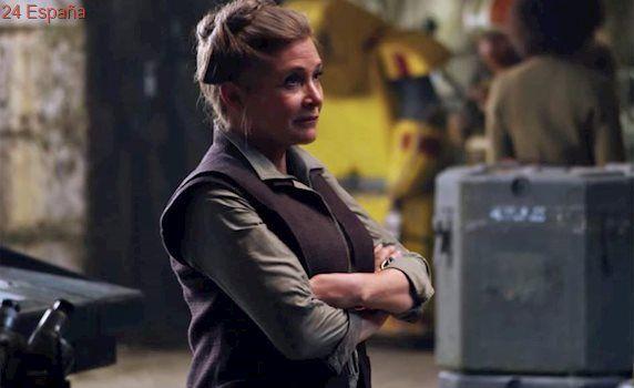 Confirmado: Carrie Fisher aparecerá en el episodio IX de 'Star Wars' sin retoque digital