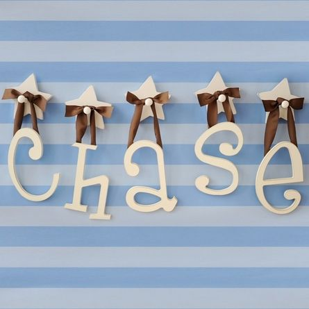 : Hanging Letters, Wall Hanging, Child Rooms, Boys Rooms, Cute Ideas, Wooden Letters, Wall Letters, Wooden Hanging, Kids Rooms