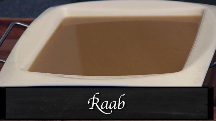 How To Make Raab (Sweet Wheat Flour Porridge) by Toral