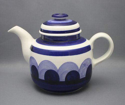 Arabia, teekannu, Paju, Anja Jaatinen-Winqvist