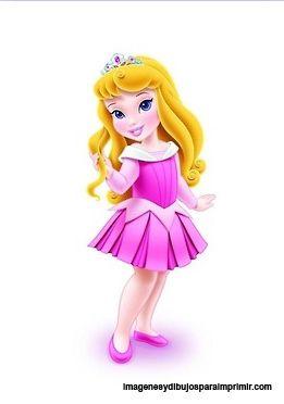 Princesas Disney Bebes Para Imprimir Las Princesas Disney En