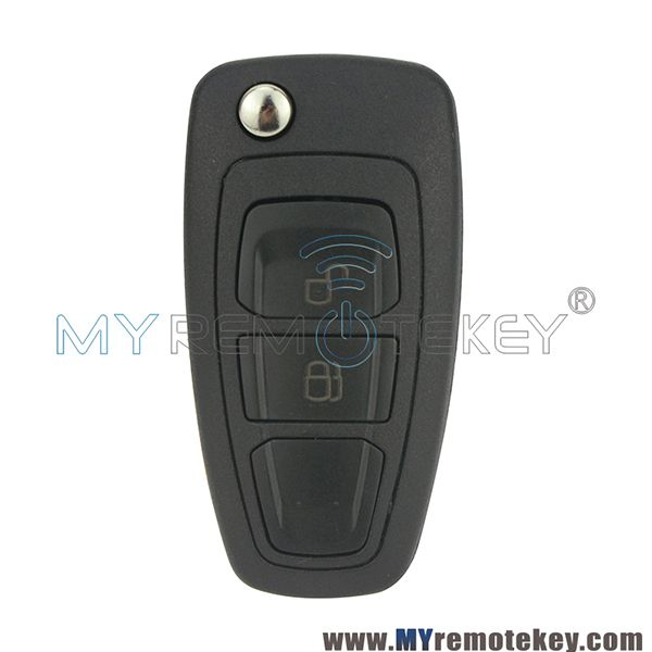 Flip Remote Key Case Shell 2 Button Hu101 Key Blade Eb3t 15k601 Ba For Ford Car Key Ford Ranger Key Ranger 2011