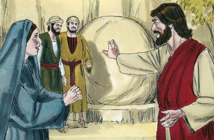 I AM the Resurrection and the Life (John 1125) Lesson