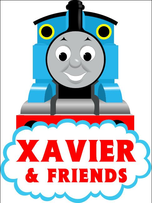 Personalized Thomas & Friends Printable PDF Sign on Etsy, $2.99