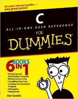 C All-in-One Desk Reference For Dummies by Dan Gookin (Author)
