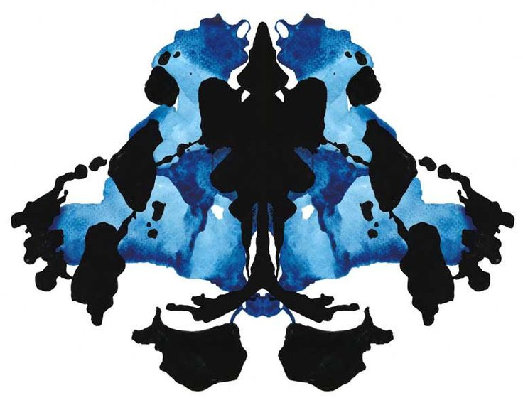 8 x 10 Rorschach Ink Blot Watercolor Giclee Print 'Mélange' - BLACK FRIDAY SALE 20% off. $22.00, via Etsy.