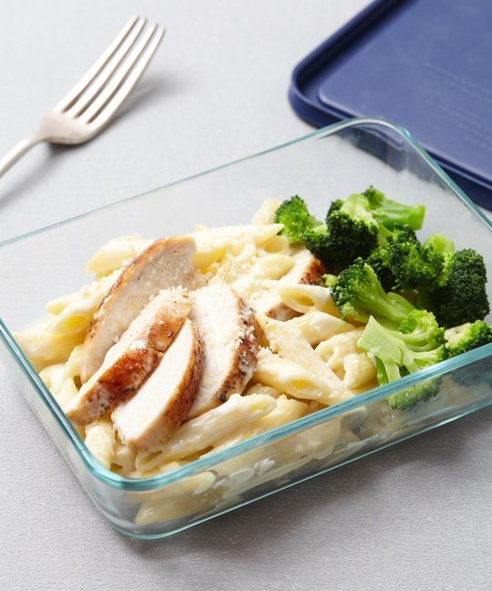 Recipe: DIY Chicken & Broccoli Alfredo Microwave Meal — Recipes from The Kitchn