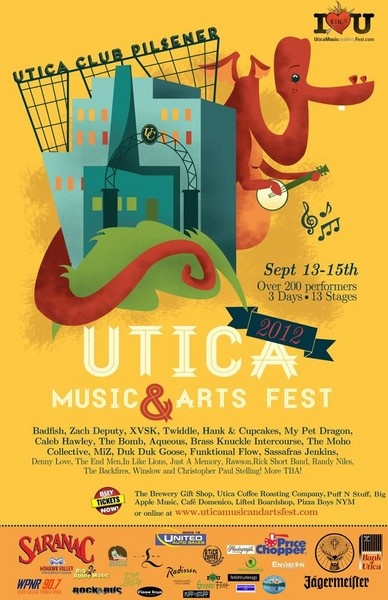 Utica Music and arts Fest coming this week... Check out all the bands that are ready to play... It's going to be an event