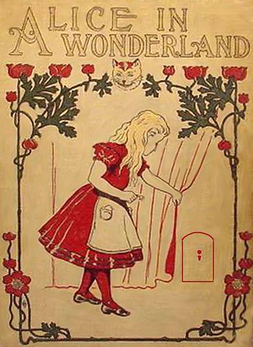 Vintage Alice In Wonderland Cover-- Publisher--McLoughlin