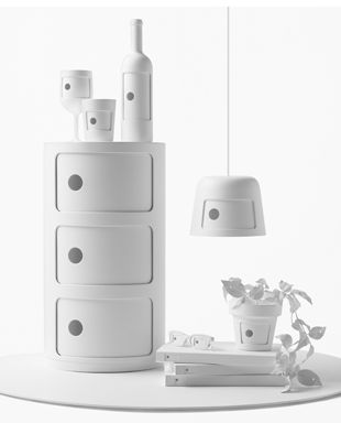 Unique piece by Nendo for the 50th anniversary of the Componibili Milan 2017