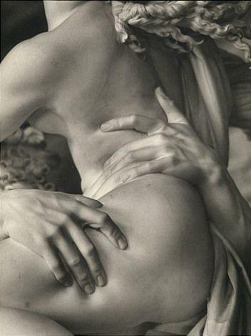 Bernin, L'enlèvement de Proserpine (détail)