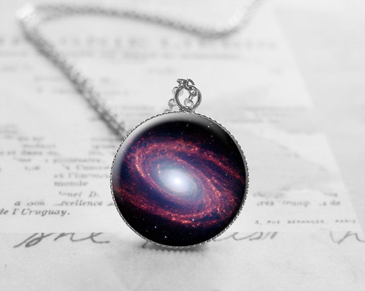 Necklaces – Nebula, Astronomy, Space, Galaxy Necklace, N602 – a unique product by petiteVanilla on DaWanda