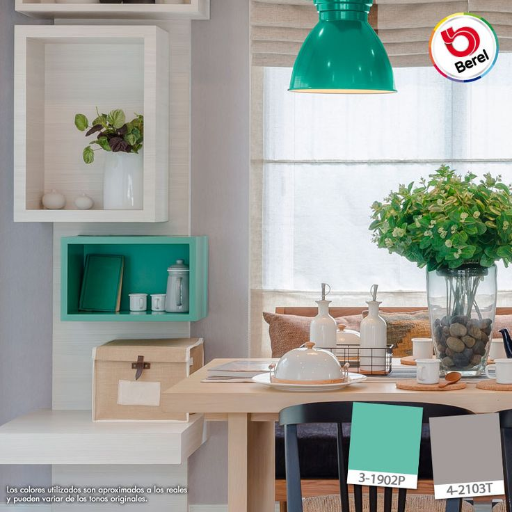 17 best images about cocina comedor on pinterest home for Colores para cocina comedor