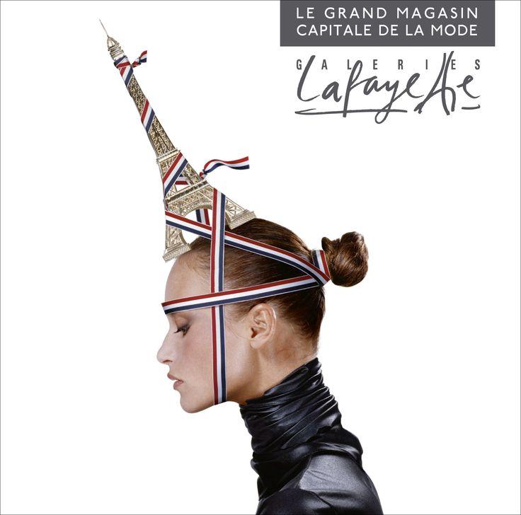galeries lafayette tour eiffel chapeau - Galerie Lafayette Mariage