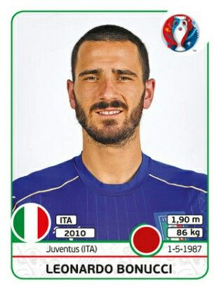 Leonardo Bonucci - Italia - EURO 2016