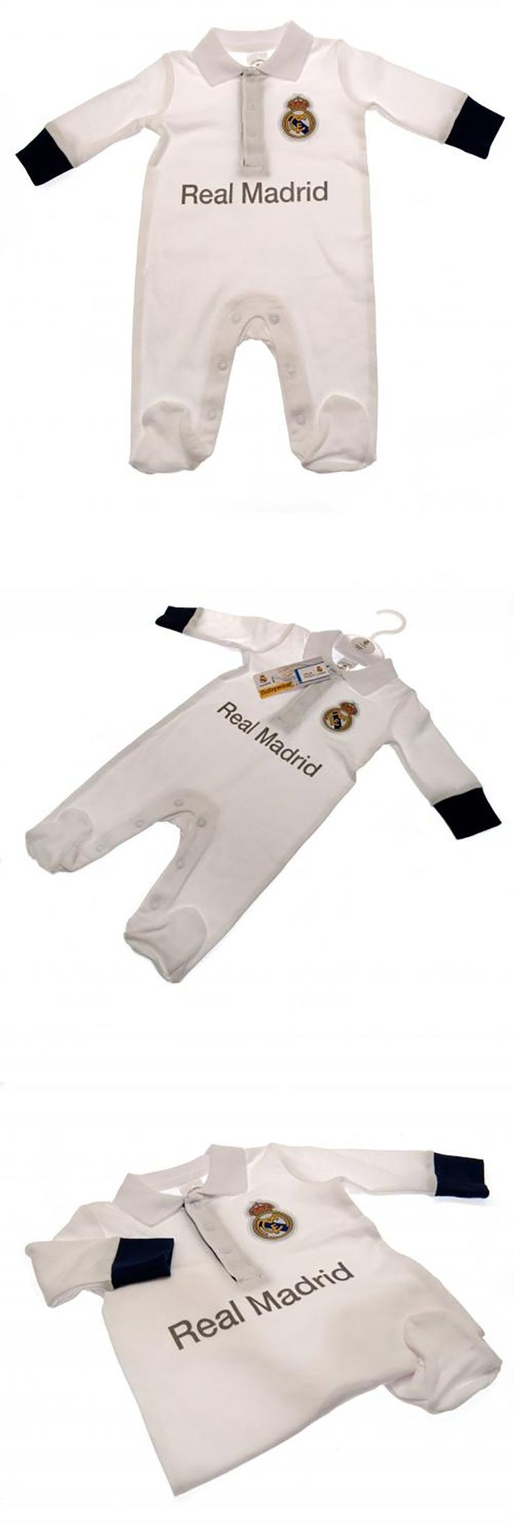 Soccer-Other 2885: 100% Cotton Baby Sleep Suit - Real Madrid Champion League (Pl 0 3 Months) New -> BUY IT NOW ONLY: $41.87 on eBay!