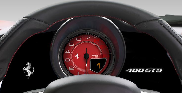 ferrari 488 gtb interior speedometer wallpaper ferrari pinterest interiors wallpapers and ferrari - Ferrari 488 Iphone Wallpaper