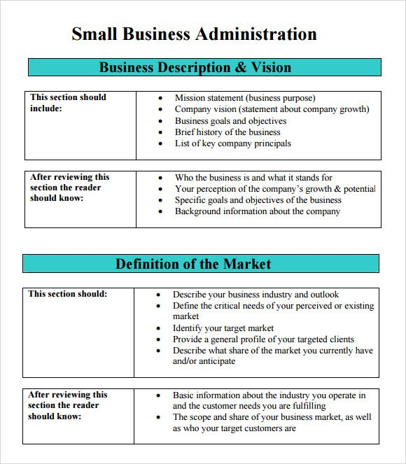 Free Business Plan Template The Best Business Plan Template - Free business plan templates