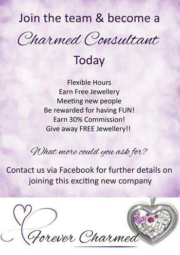 Come and join the HOTTEST company in Australia!!!  www.Facebook.com/forevercharmedjewellery