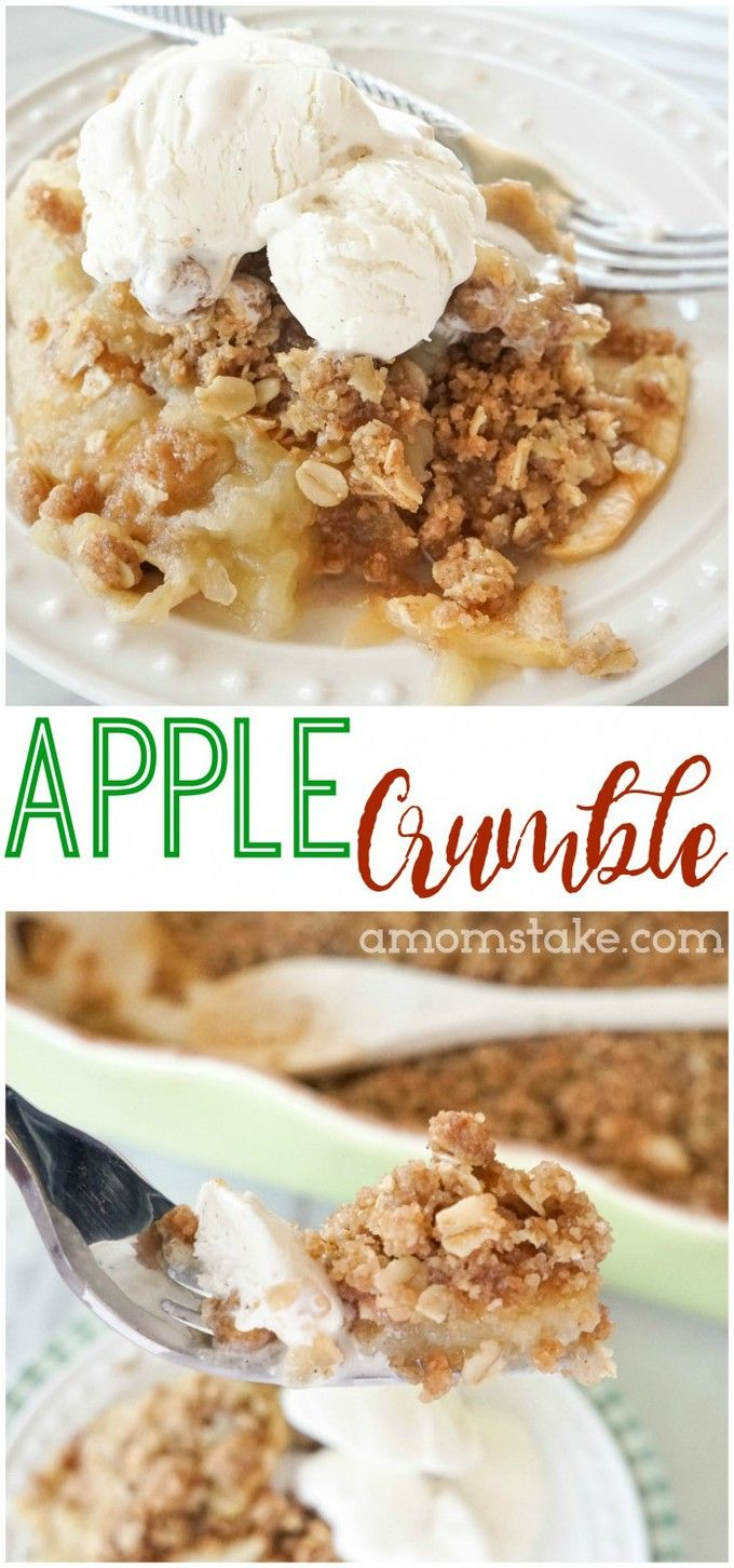 best 25 apple crumble recipe easy ideas on pinterest. Black Bedroom Furniture Sets. Home Design Ideas
