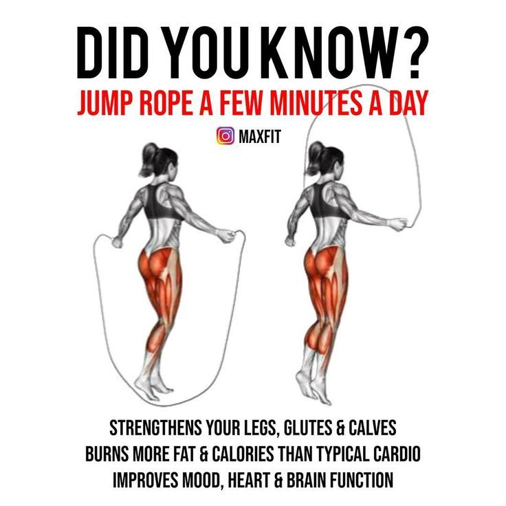 will jump roping burn fat