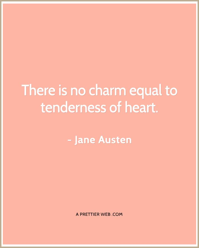 Jane Austin quote on love!