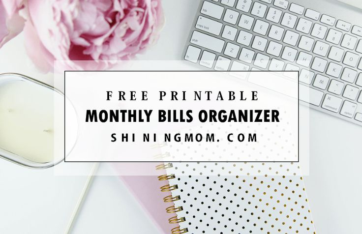 If you're looking for a binder to organize your payables, you'll love to print this pack of free monthly bill payment organizer that I created for you. It will help you sort out your mo…