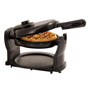 Bella Rotating Waffle Maker -flash backs to college cafe days!  We rocked those waffle makers.