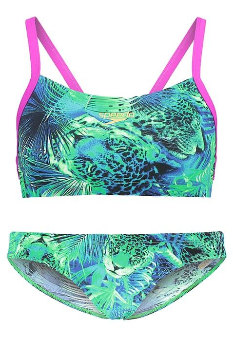 Speedo Bikini - fluo green/deep peri/aquarium - ZALANDO.FR 55€