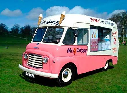 the beloved ice cream truck...we called her the ding-a-ling lady.