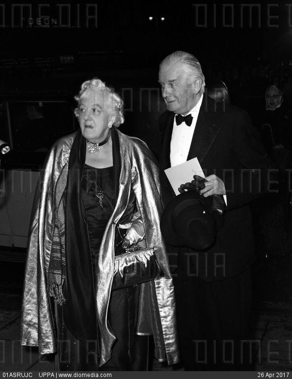 Dame Margaret Rutherford & Stringer Davis - stock photo
