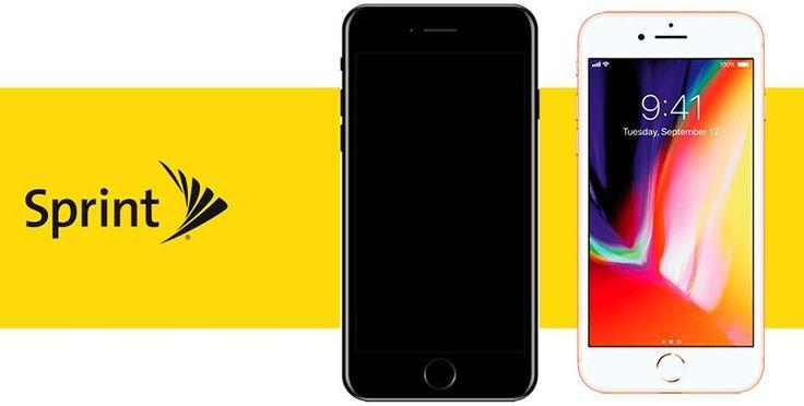 Sprint Ofrece conexión iPhone 8 contrato de Arrendamiento Con el iPhone 7, el Comercio De