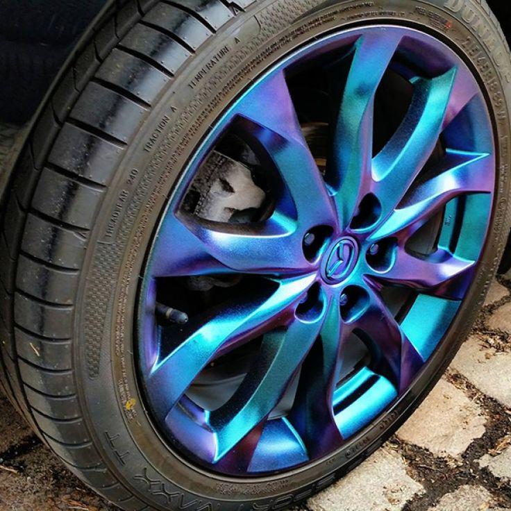 Mazda Felgen Gedippt Mit Flüssiggummi Spray Sprühfolie