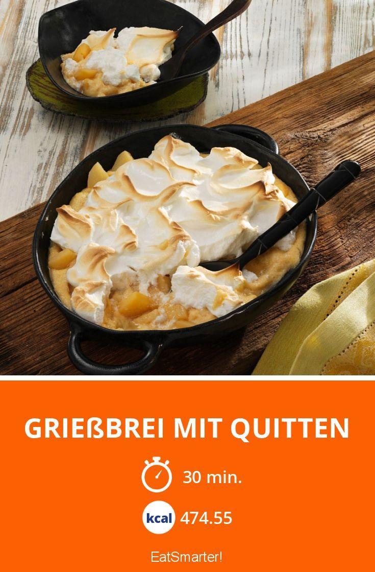 Grießbrei mit Quitten - smarter - Kalorien: 474.55 kcal - Zeit: 30 Min. | eatsmarter.de