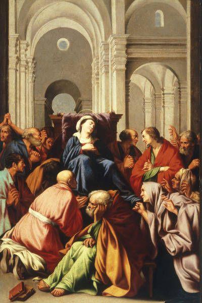Carlo Saraceni La Mort De La Vierge Met New York Art