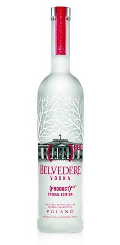"Belvedere Vodka Bottle Red www.LiquorList.com  ""The Marketplace for Adults with Taste""  @LiquorListcom   #LiquorList"