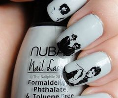 nails nails nails: Nails Art, Nailart, Nails Design, Audrey Hepburn, Breakfast At Tiffany, Audreyhepburn, Icons, Art Nails, Nail Art