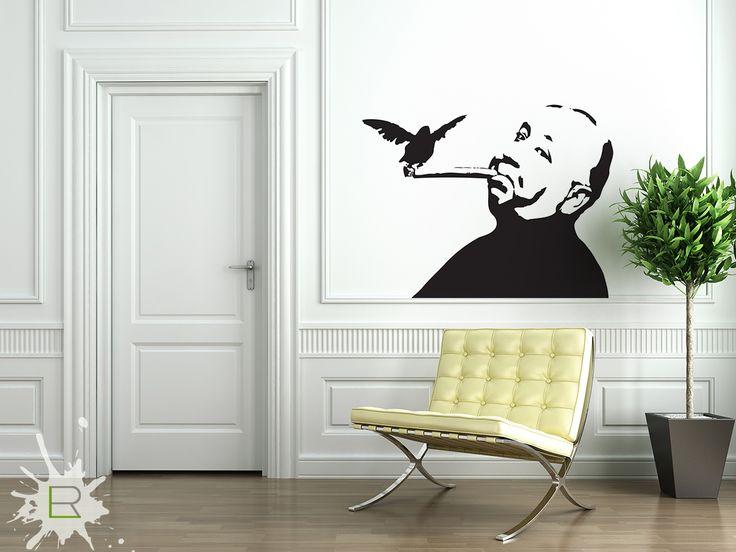 Naklejka Alfred Hitchcock