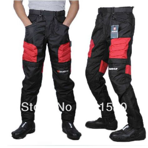 Duhan Oxford Knight pants Racing Off-road Motorcycle riding pants Wind racing suits Complimentary two-piece protective gear P5