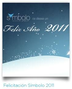 Felicitación #SímboloGrafico 2011.