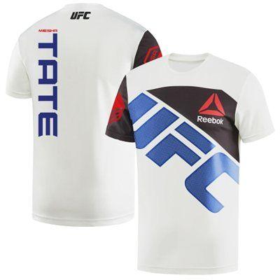 Men's Reebok Miesha Tate Chalk UFC Jersey