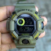 Jam Tangan Pria Cowok Digitec aquaman ijo army Sport Digital Original